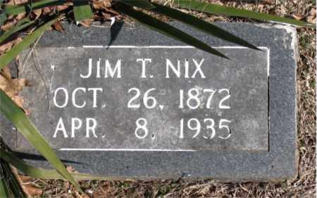 NIX, JIM T. - Carroll County, Arkansas | JIM T. NIX - Arkansas Gravestone Photos