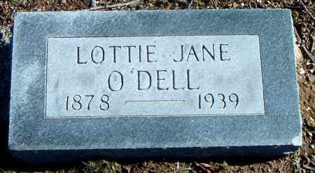 O'DELL, LOTTIE JANE - Carroll County, Arkansas   LOTTIE JANE O'DELL - Arkansas Gravestone Photos