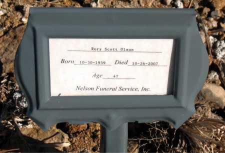 OLSON, RORY SCOTT - Carroll County, Arkansas   RORY SCOTT OLSON - Arkansas Gravestone Photos