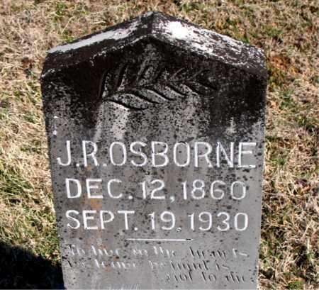 OSBORNE, J R - Carroll County, Arkansas | J R OSBORNE - Arkansas Gravestone Photos