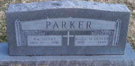 PARKER, KATIE M - Carroll County, Arkansas   KATIE M PARKER - Arkansas Gravestone Photos