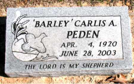 PEDEN, CARLIS A. (BARLEY) - Carroll County, Arkansas | CARLIS A. (BARLEY) PEDEN - Arkansas Gravestone Photos
