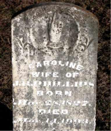 PHILLIPS, CAROLINE - Carroll County, Arkansas   CAROLINE PHILLIPS - Arkansas Gravestone Photos