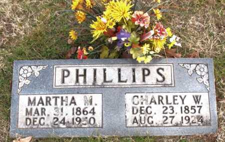 PHILLIPS, MARTHA  M. - Carroll County, Arkansas | MARTHA  M. PHILLIPS - Arkansas Gravestone Photos