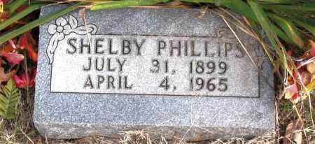 PHILLIPS, SHELBY - Carroll County, Arkansas | SHELBY PHILLIPS - Arkansas Gravestone Photos