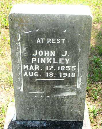 PINKLEY, JOHN J - Carroll County, Arkansas   JOHN J PINKLEY - Arkansas Gravestone Photos