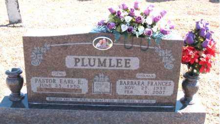 PLUMLEE, BARBARA FRANCES - Carroll County, Arkansas | BARBARA FRANCES PLUMLEE - Arkansas Gravestone Photos