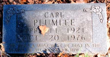 PLUMLEE, CARL - Carroll County, Arkansas | CARL PLUMLEE - Arkansas Gravestone Photos