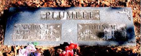 PLUMLEE, JOHN M. - Carroll County, Arkansas | JOHN M. PLUMLEE - Arkansas Gravestone Photos