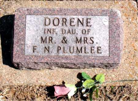 PLUMLEE, DORENE - Carroll County, Arkansas   DORENE PLUMLEE - Arkansas Gravestone Photos