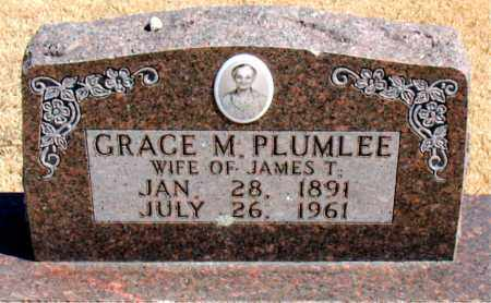 PLUMLEE, GRACE M. - Carroll County, Arkansas   GRACE M. PLUMLEE - Arkansas Gravestone Photos