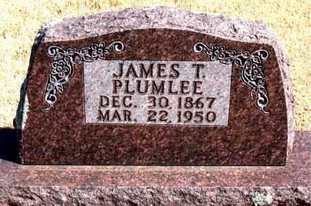 PLUMLEE, JAMES T. - Carroll County, Arkansas   JAMES T. PLUMLEE - Arkansas Gravestone Photos