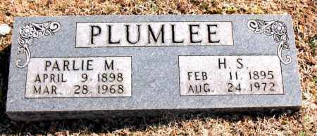 PLUMLEE, H. S. - Carroll County, Arkansas | H. S. PLUMLEE - Arkansas Gravestone Photos