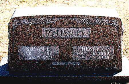 PLUMLEE, SUSAN E. - Carroll County, Arkansas | SUSAN E. PLUMLEE - Arkansas Gravestone Photos