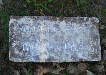 POOR, ALFERD - Carroll County, Arkansas | ALFERD POOR - Arkansas Gravestone Photos