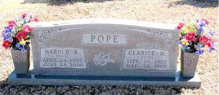 POPE, HAROLD R. - Carroll County, Arkansas | HAROLD R. POPE - Arkansas Gravestone Photos