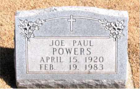 POWERS, JOE PAUL - Carroll County, Arkansas | JOE PAUL POWERS - Arkansas Gravestone Photos