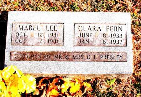 PRESLEY, MABEL LEE - Carroll County, Arkansas | MABEL LEE PRESLEY - Arkansas Gravestone Photos