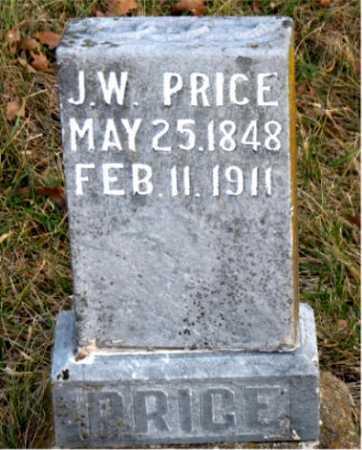PRICE, J. W. - Carroll County, Arkansas   J. W. PRICE - Arkansas Gravestone Photos