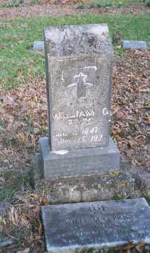 PRICE, WILLIAM GILWATER - Carroll County, Arkansas | WILLIAM GILWATER PRICE - Arkansas Gravestone Photos