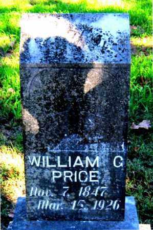 PRICE, WILLIAM G - Carroll County, Arkansas | WILLIAM G PRICE - Arkansas Gravestone Photos