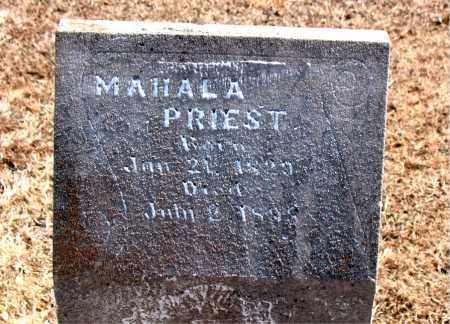 PRIEST, MAHALA - Carroll County, Arkansas   MAHALA PRIEST - Arkansas Gravestone Photos