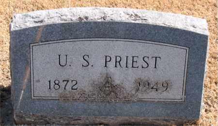 PRIEST, U.  S. - Carroll County, Arkansas | U.  S. PRIEST - Arkansas Gravestone Photos
