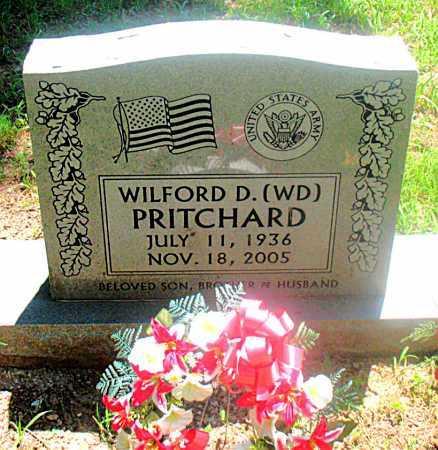 PRITCHARD (VETERAN), WILFORD - Carroll County, Arkansas | WILFORD PRITCHARD (VETERAN) - Arkansas Gravestone Photos