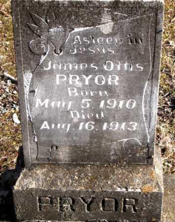 PRYOR, JAMES OTTIS - Carroll County, Arkansas | JAMES OTTIS PRYOR - Arkansas Gravestone Photos