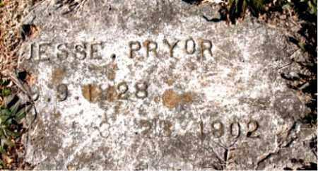 PRYOR, JESSE - Carroll County, Arkansas | JESSE PRYOR - Arkansas Gravestone Photos