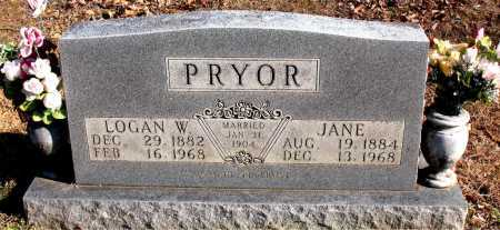 PRYOR, LOGAN W. - Carroll County, Arkansas | LOGAN W. PRYOR - Arkansas Gravestone Photos