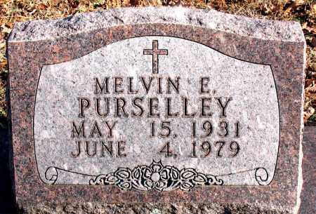 PURSELLEY, MELVIN E. - Carroll County, Arkansas | MELVIN E. PURSELLEY - Arkansas Gravestone Photos