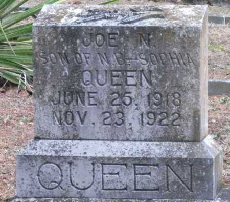 QUEEN, JOE N - Carroll County, Arkansas | JOE N QUEEN - Arkansas Gravestone Photos
