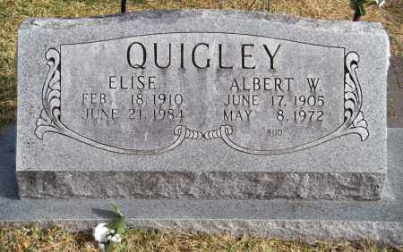 QUIGLEY, ELISE - Carroll County, Arkansas | ELISE QUIGLEY - Arkansas Gravestone Photos