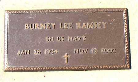 RAMSEY (VETERAN), BURNEY LEE - Carroll County, Arkansas | BURNEY LEE RAMSEY (VETERAN) - Arkansas Gravestone Photos
