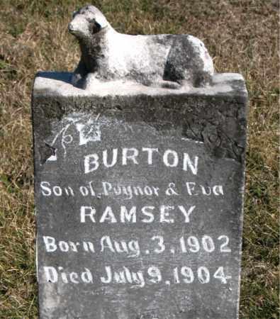 RAMSEY, BURTON - Carroll County, Arkansas   BURTON RAMSEY - Arkansas Gravestone Photos