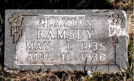 RAMSEY, CLAYTON - Carroll County, Arkansas | CLAYTON RAMSEY - Arkansas Gravestone Photos