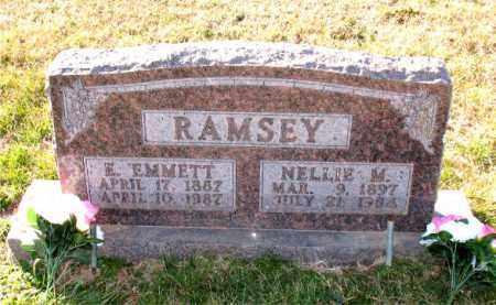 RAMSEY, NELLIE M. - Carroll County, Arkansas | NELLIE M. RAMSEY - Arkansas Gravestone Photos