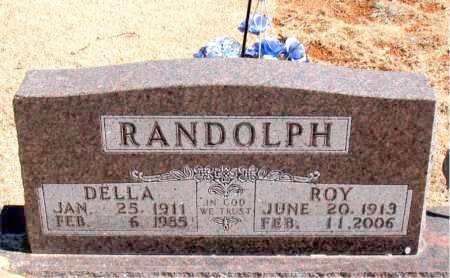RANDOLPH, DELLA - Carroll County, Arkansas | DELLA RANDOLPH - Arkansas Gravestone Photos