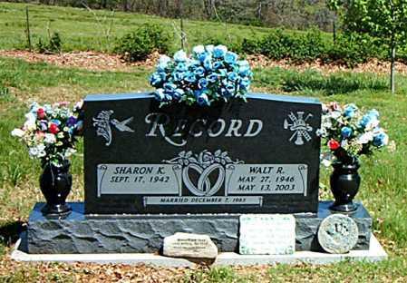 RECORD, WALT R. - Carroll County, Arkansas | WALT R. RECORD - Arkansas Gravestone Photos