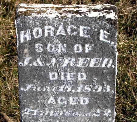 REED, HORACE E. - Carroll County, Arkansas | HORACE E. REED - Arkansas Gravestone Photos