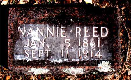 REED, NANNIE - Carroll County, Arkansas | NANNIE REED - Arkansas Gravestone Photos