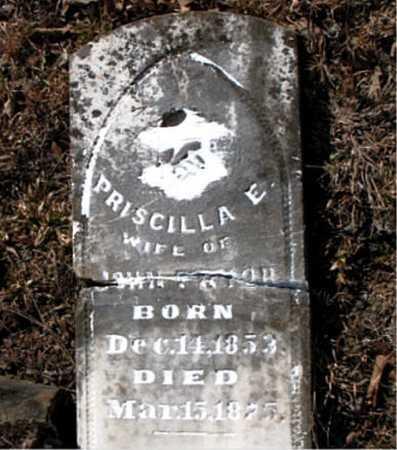 REEVES, PRISCILLA E. - Carroll County, Arkansas | PRISCILLA E. REEVES - Arkansas Gravestone Photos