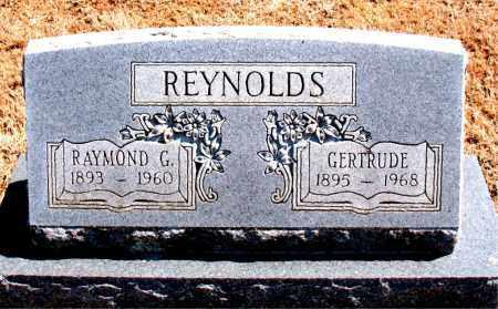 REYNOLD, RAYMOND G. - Carroll County, Arkansas   RAYMOND G. REYNOLD - Arkansas Gravestone Photos