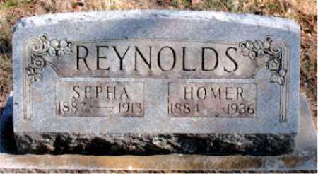 REYNOLDS, HOMER - Carroll County, Arkansas | HOMER REYNOLDS - Arkansas Gravestone Photos