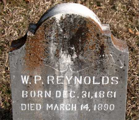 REYNOLDS, W. P. - Carroll County, Arkansas | W. P. REYNOLDS - Arkansas Gravestone Photos