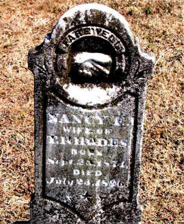 RHODES, NANCY F. - Carroll County, Arkansas | NANCY F. RHODES - Arkansas Gravestone Photos