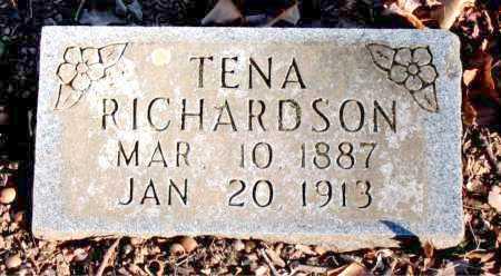 RICHARDSON, TENA - Carroll County, Arkansas | TENA RICHARDSON - Arkansas Gravestone Photos