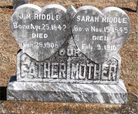 RIDDLE, SARAH - Carroll County, Arkansas | SARAH RIDDLE - Arkansas Gravestone Photos