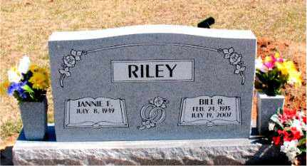 RILEY, BILL R. - Carroll County, Arkansas   BILL R. RILEY - Arkansas Gravestone Photos